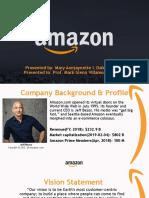 Amazon Business Strategy 2019