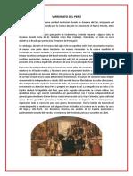 VIRREINATO DEL PERÚ y emancipacion.docx