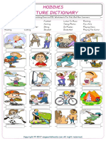 Hobbies Vocabulary Matching Exercise ESL Worksheets For Kids And New Learners 7167.pdf