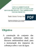 AS POLÍTICAS AMBIENTAIS DE COBRANÇA PELO USO ÁGUA002