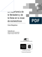 LA IMPORTANCIA DE LO VERDADERO (completo).pdf