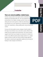 Design Process and Evaluation-Website