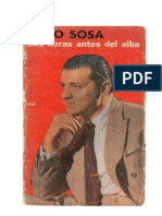 Dos Horas Antes Del Alba Julio Sosa