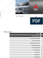 Mitsubishi L200 2011 Owners Manual.pdf