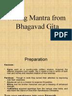 Ethics in Bhagvad Gita