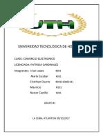 UNIVERSIDAD TECNOLOGICA DE HONDURAS   COMERCIO ELECTRONICO (1).docx