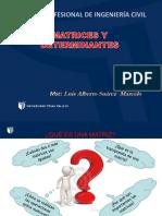 Matrices y Determinantes