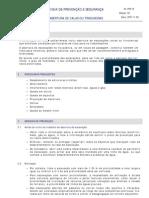 FPS 18 - Abertura de Valas ou Trincheiras Ed02