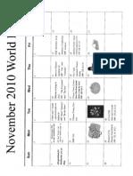 World Lit Nov Calendar