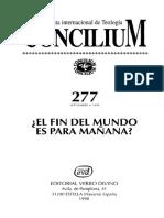 Tema 3 -  Actualidad del tema escatológico.pdf