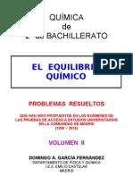 5.3 - EQUILIBRIO QUÍMICO - PROBLEMAS RESUELTOS DE ACCESO A LA UNIVERSIDAD (II)