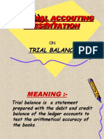Errors Effecting Trial Balance