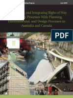 Streamlining & Integrating RoW-Utility-Env&Design Processses Aust&Can_fhwa(2009)