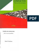 Remo Entelman Teoria de Conflictos PDF