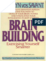 Marilyn Vos Savant Brain Building Exercising Yo B
