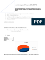 Investigación sobre empresa de servicios Multi Drive
