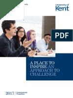 University of Kent Undergraduate Prospectus 2017.pdf