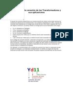 Los grupos de conexión de los Transformadores y sus aplicaciones.docx
