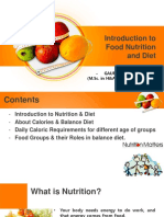 Unit-1 (Introduction to Food Nutrition & Diet