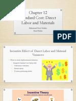 Chapter 12 - Standard Costs (C,D,E)