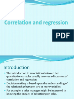Correlation and Regression11