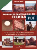 Manual de Construccion en Tierra - Gernot Minke