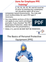 Basics of PPE Training | Personal Protective Equipment | Glasses