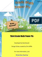 3rd Grade Math Power Pix.ppt