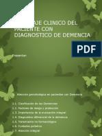 tecnicas de abordaje para la demencia
