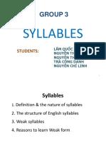 Syllable 5
