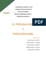 Trabajo de Personalismo