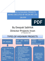 Highway & Railway projects (1)- 25.09.2017-Final Amended.ppt