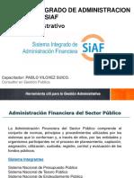 Marco Jurídico, Presupuestal y Financiero