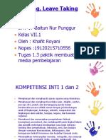 1.3 Praktik Membuat Media Pembelajaran (Khafit Royani)