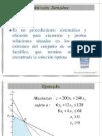 Algebra Metodo Simplex