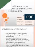 Loan Syndication Group G Class B