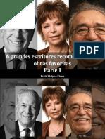 Erick Malpica Flores - 6 Grandes Escritores Recomiendan Sus Obras Favoritas, Parte I