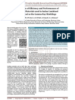 Evaluation of Efficiency and Performances of Building Materials used in Sudan Combined with Lead as the Gamma Ray Shieldings
