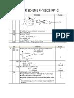 Answer Scheme Physics Irp-2
