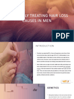 Effectively Treating Hair Loss Causes in Men