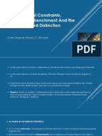 Developmental constraints presentation