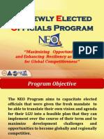 2016 NEO Program Presentation