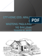 Home Eco Aralin 15