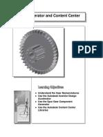 Inventor Gear Fastener Tutorial