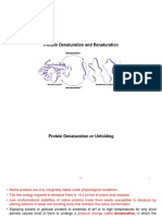 ``Final Protein denaturation