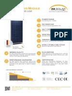 PANEL AE SOLAR AE320P6-72.pdf