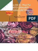Flora en tracto génito-urinario (vagina,uretra).pptx