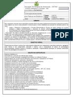 PLANO de ENSINO Pratica Eletronica II - Alacy