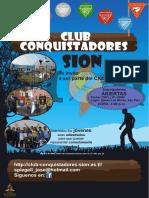 Baner de Conquistadores 2014