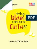 E-BOOK - Apalagi Islam itu Kalau Bukan Cinta.pdf